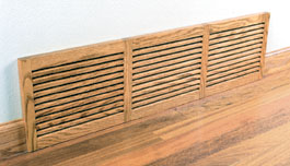 One Directional Oak Basevent